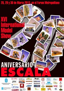XVI Certamen de Modelismo Escala - 20 Aniversario