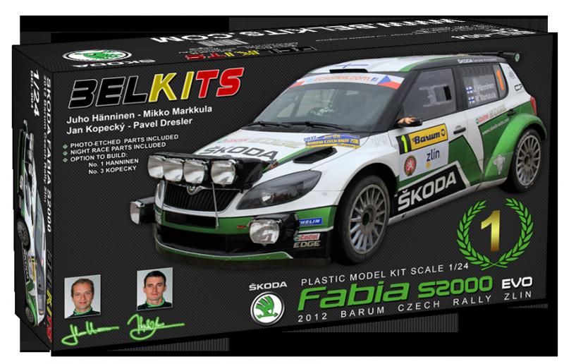 Skoda Fabia S2000 EVO kit