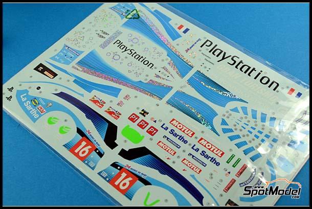 Playstation version for the SimilR Pescarolo decals image / Imagen de las calcas de las version Playstation para el Pescarolo de SimilR