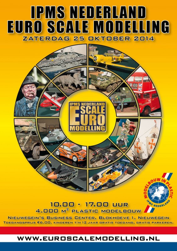 Euro Scale Modelling Contest flyer
